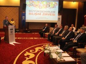 'Büyükşehirler Bilişim Zirvesi' başladı