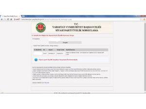 Üniversite öğrencisi AK Parti'ye üye olduğunuYargıtay'ın sayfasından öğrendi