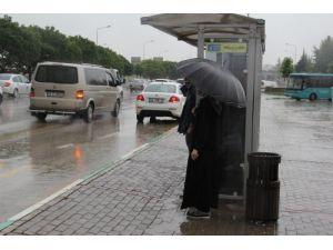 Yağmur Bursa'da etkisini sürdürüyor