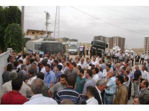 Mardin'de binlerce çiftçi eylem yaptı