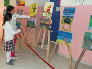 Boğazlıyan Cumhuriyet İlköğretim Okulu yılsonu sergisini açtı