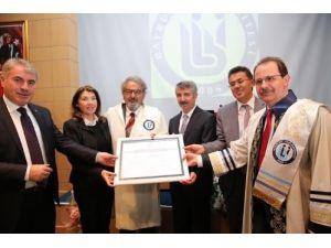 Bayburt Üniversitesi'nden Baksı Müzesi Kurucusu Prof. Koçan'a fahri doktora