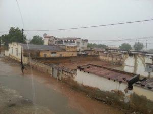 Senegal kum fırtınası ve şiddetli yağmura teslim