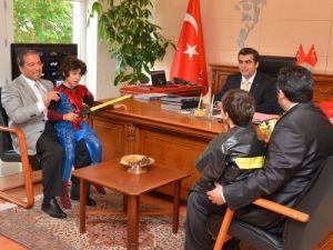Çevre Günü'nde Vali Düzgün'ün ziyaretçileri öğrenciler oldu