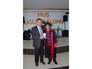 Muş Özel Çağlayan Koleji'nde mezuniyet töreni