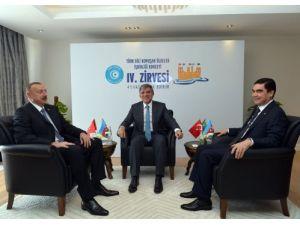 Türkiye-Türkmenistan-Azerbaycan hattında devlet başkanları zirvesi