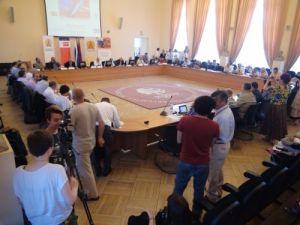 Rusya-Türkiye gazeteciler formu Moskova'da başladı