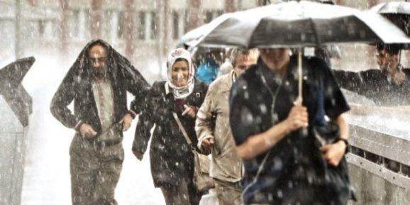 AKOM'da yağmur alarmı