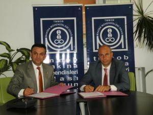 Tekkeköy'de asansörlerin kontrol protokolü imzalandı