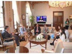 Finlandiya Büyükelçisi Vaskunhahti, Hatay'da temaslarda bulundu