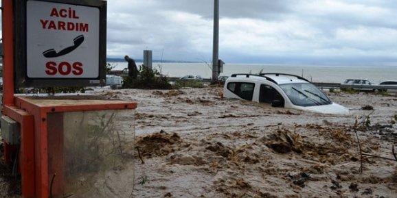 Zonguldak ve Bartın'da sel