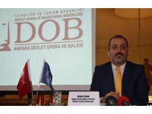 Ankara Devlet Opera ve Balesi'nde 29 eseri 131 bin seyirci izledi