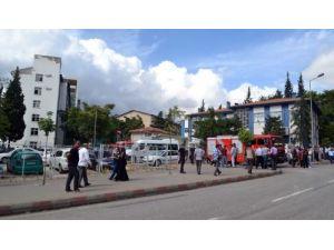 Vali Kocatepe: Kaynak alevi birikmiş barut gazını patlattı, 5 yaralı var