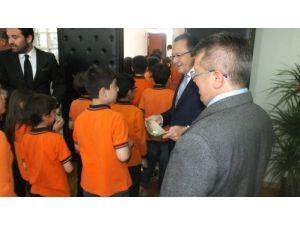Fıratlı öğrencilerden Başkan Uğur'a ziyaret