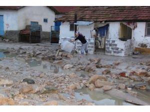 Polatlı'da dolu 8 bin dönüm ekili alana zarar verdi