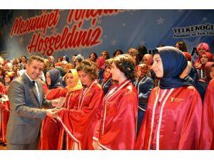 Yelkenoğlu'ndan 17. dönem mezunlarına muhteşem tören