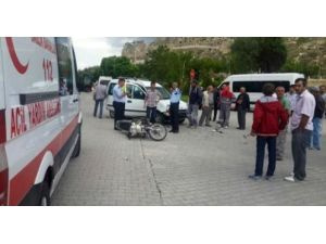 Ürgüp'te otomobil motosiklete çarptı: 1 ölü, 1 yaralı