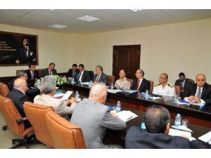 Suriyelilerle ilgili koordinasyon toplantısı yapıldı