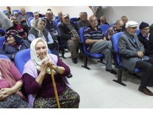 Huzurevi yaşlılarına sağlıklı beslenme eğitimi verildi