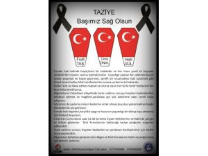 Afganistan'da şehit olan 3 Türk mühendisi için taziye programı düzenlendi