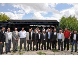 Ziraat odası başkanları Elbistan'da toplandı