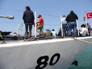 Balıkesir'de ikisi çocuk 78 kaçak göçmen ölümden döndü