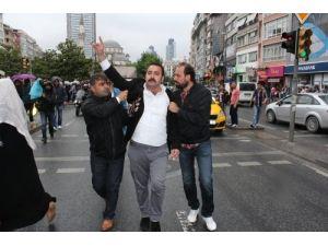 Şişli'de, 'Öcalan' gerginliği