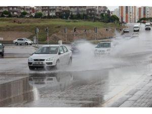 Başkentte yağış etkisini sürdürdü