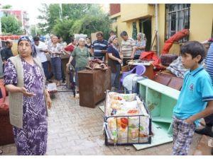 Adanalılar selin yaralarını sarmaya çalışıyor