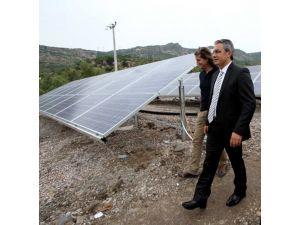Karşıyaka Belediyesi 'güneş tarlası' kurdu, elektriğe para vermeyecek
