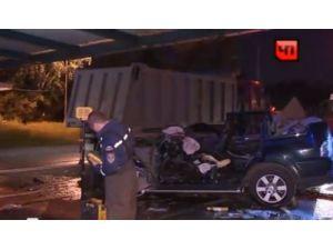 Moskova'da bir Türk, trafik kazasında hayatını kaybetti