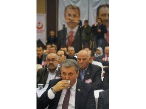 Mustafa Destici, yeniden BBP Genel Başkanı seçildi