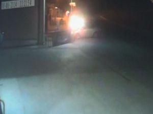 Ereğli'deki kaza anı güvenlik kamerasında