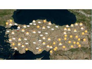 Meteoroloji'nin Türkiye için son hava raporu