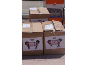 TBMM, Soma'daki çocuklara Meclis'i tanıtan kitap gönderdi