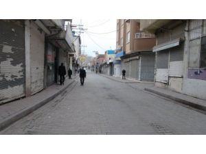 Cizre ve Silopi'de kepenkler kapalı