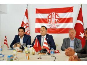 Antalyaspor'a dev tesis için düğmeye basıldı, ilk kazma vurulması bekleniyor