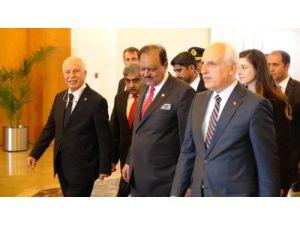 Pakistan Cumhurbaşkanı Hüseyin, Türkiye'den ayrıldı