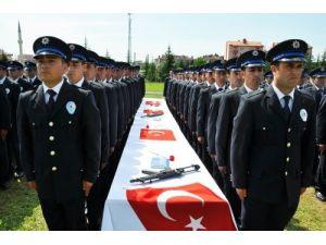 Merzifon POMEM'den polis teşkilatına 521 taze kan