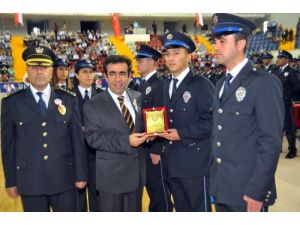 Mersin'de POMEM'de mezuniyet coşkusu