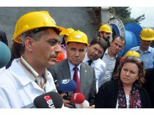 Komisyon facianın yaşandığı maden ocağında inceleme bulundu