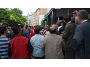 Eskişehir'de Lice protestosu