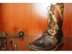 Harry Potter'ın Osmanlı çarıkları İzmir Ayakkabı Fuarı'nda