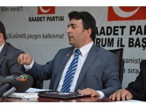 SP İl Başkanı Çalık, terörü kınadı