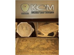 Tarihi eser kaçakçısı 3 mozaik tabloyla yakalandı