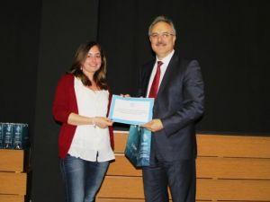 Canik Başarı'nın formasyon öğrencileri sertifikalarını aldı