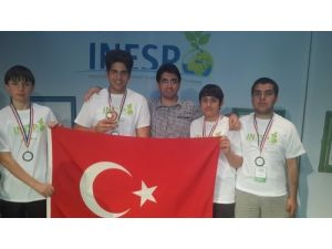 Samanyolu öğrencileri İNESPO dünya üçüncüsü