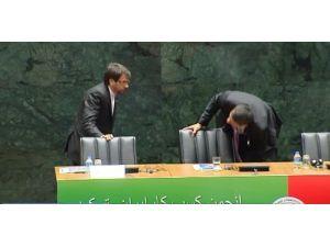 Ruhani'nin konuşacağı salonda 'koltuk krizi'