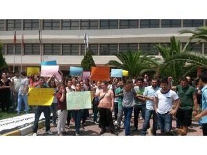 Üniversite öğrencileri formasyon eylemi yaptı