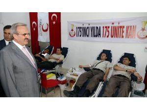 Jandarmadan '175. Yılda 175 Ünite Kan' kampanyası